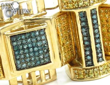 Mens Diamond Bracelet 19927 Diamond