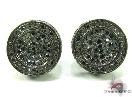 Mens Diamond Earrings 19950 Stone