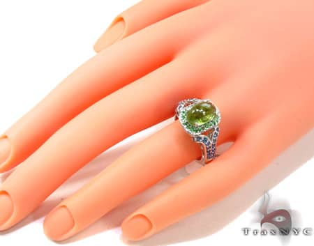 Ladies Silver Gemstone Ring 19958 Anniversary/Fashion