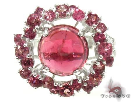 Ladies Silver Tourmaline Ring 19966 Anniversary/Fashion