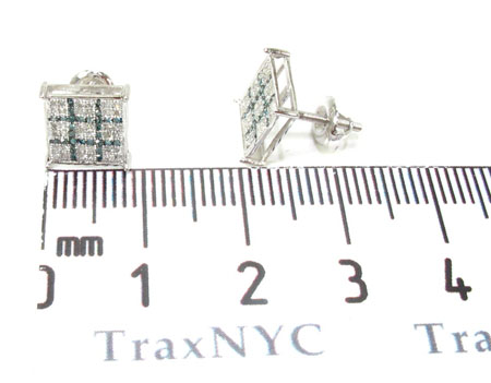 2 Color Diamond Earrings 21730 Stone