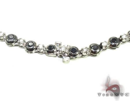 Black and White Diamond Rosary 20123 Rosary