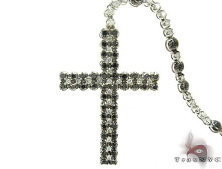 Black and White Diamond Rosary 20123 Rosary