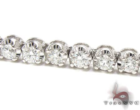 Custom Jewelry - Diamond Chain 24 Inches 5mm 75.8 Grams Diamond Chains
