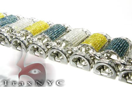 Multi Color Bubble Bracelet Diamond