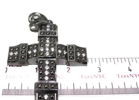 Black Silver Cross 20243 Silver