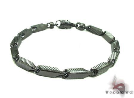 Black Silver Bracelet 20255 Silver