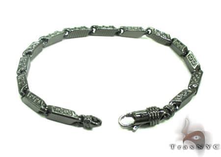 Black Silver Bracelet 20262 Silver