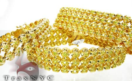 Canary 3 Row Toni Bracelet Diamond