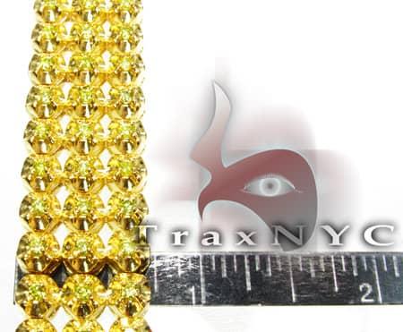 Canary 3 Row Toni Bracelet Diamond