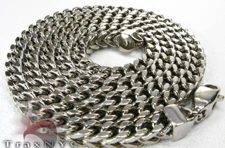 34 Inch Gold Franco Chain 34 Inches, 7mm, 99.7 Grams Gold