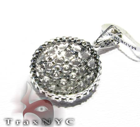Ladies Checkered Pendant Stone
