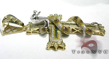 Snake Cross Diamond