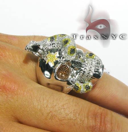Skull Ring Stone
