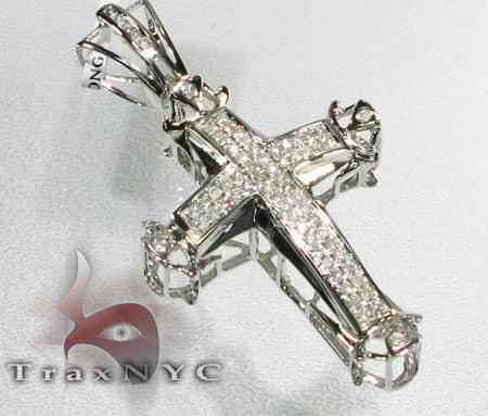 4 Bezel Cross Diamond