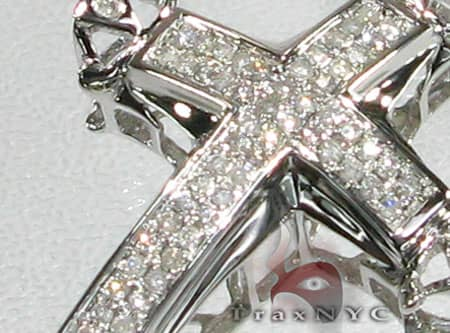 4 Bezel Cross Diamond