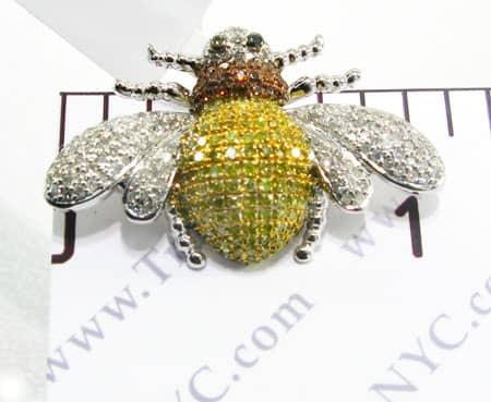 Bumble Bee Pendant Stone