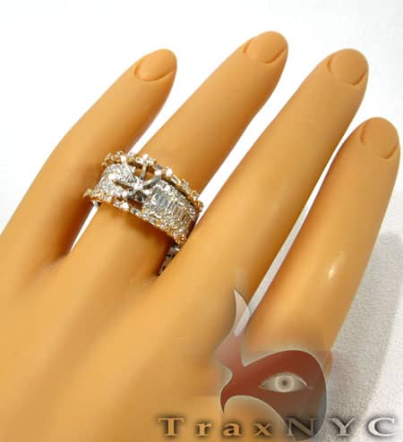 Rose Semi Mount Ring Engagement