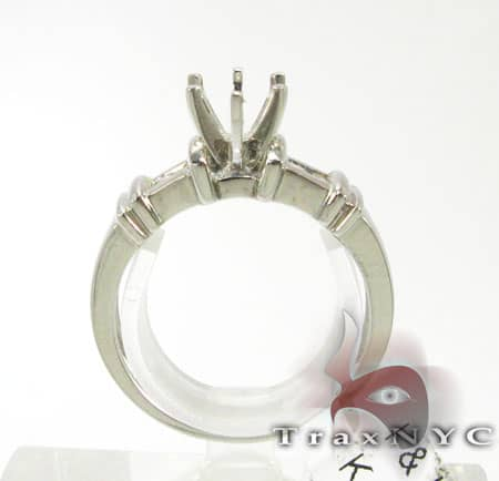 Ladies 4 Stone Semi Mount Ring Engagement