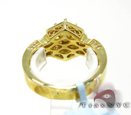 Yellow Gold Prong Semi Mount Engagement
