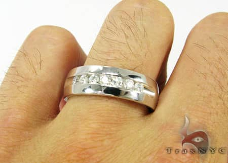 Mens Diamond Wedding Band Style