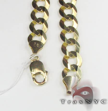 10K Cuban Chain 36 Inches, 12.5mm, 107.6 Grams Gold