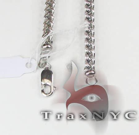 Diamond Cut Franco Chain 36 Inches, 5mm, 42.8 Grams Gold