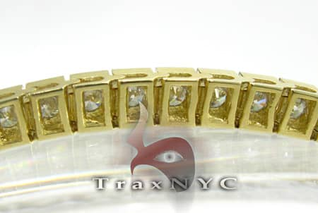Yellow Gold DRS Bracelet Tennis