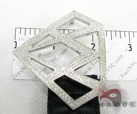 Diamond Belt Buckle Metal