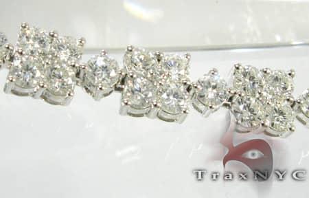 Prong Connection Bracelet Diamond