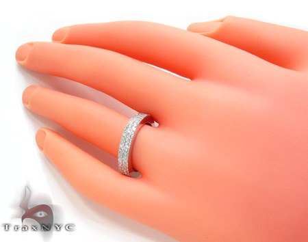 3 Row Diamond Ring 20429 Wedding