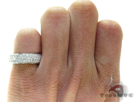 3 Row Diamond Ring 21723 Wedding