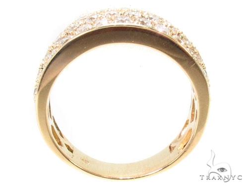 3 Row Diamond Ring 36239 Stone
