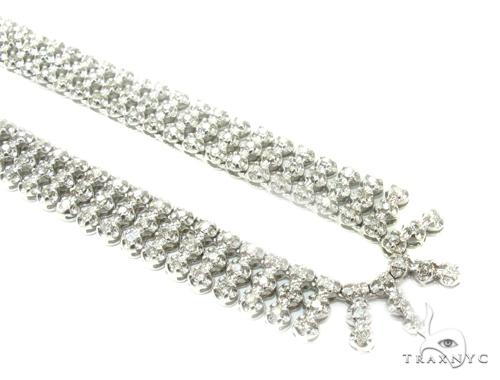 3 Row Prong Diamond Chain 35858 Diamond