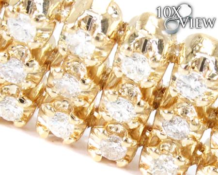3 Row Toni Bracelet Diamond