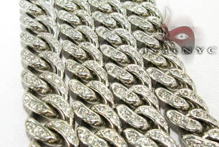 Diamond Cuban XL Chain 42 Inches, 14mm, 300 Grams Diamond