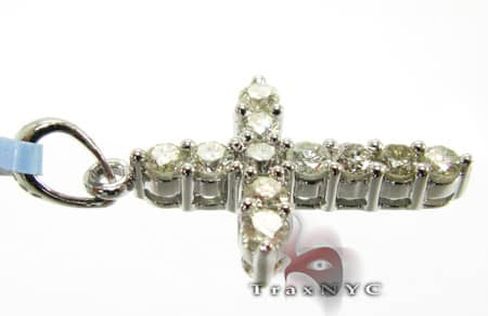 Mini Prong Cross Diamond