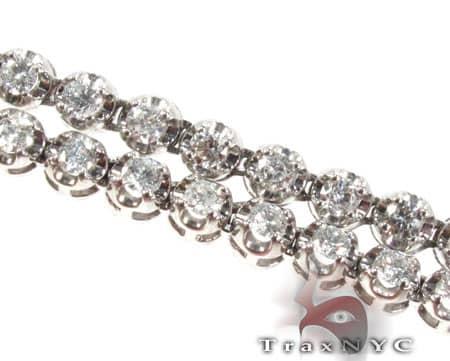Polar Iced Diamond Chain 30 Inches 4mm 46 Grams Diamond