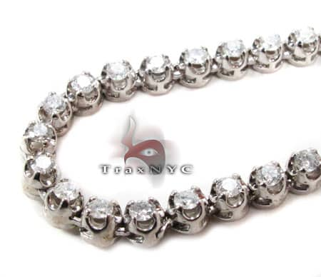 Polar Iced Diamond Chain 30 Inches 4mm 46 Grams Diamond