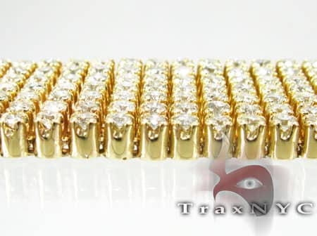 YG Toni 7 Row Bracelet Diamond