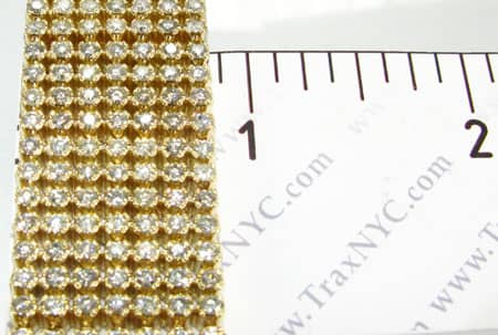 YG Toni 7 Row Bracelet Diamond