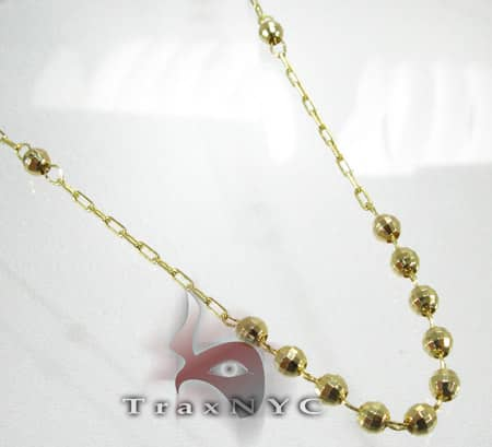 Yellow Gold Rosary Beads 3 Gold