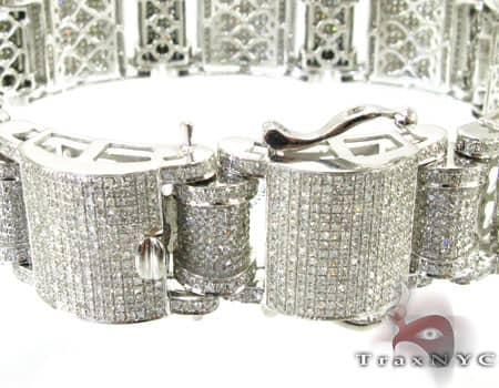 Pave Jumbo Bracelet Diamond