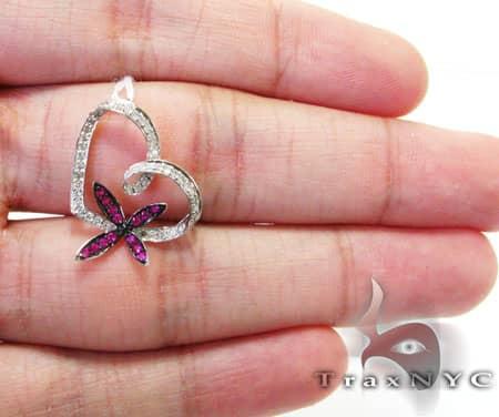 Flower Heart Pendant Stone