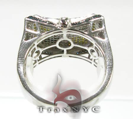Tri Color Slope Ring Stone