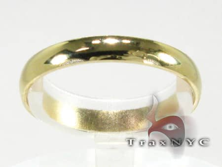 Gold Band Mens Gold Wedding Bands