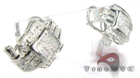 STi Diamond Earrings Stone