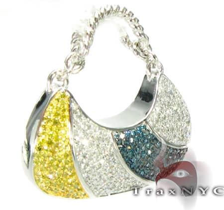 Handbag Charm 4 Stone