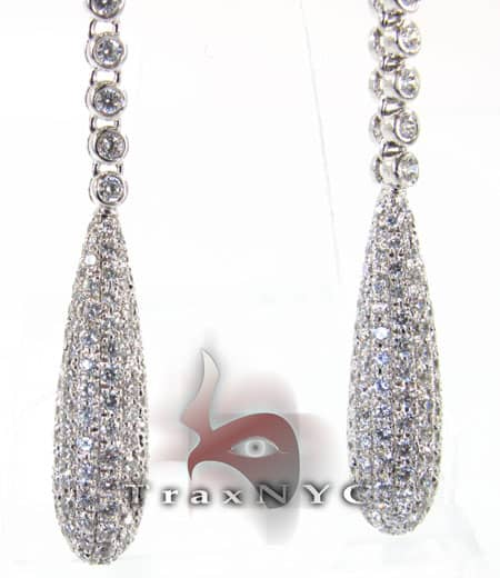 Pear Earrings Stone