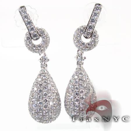 Pear Earrings 2 Stone